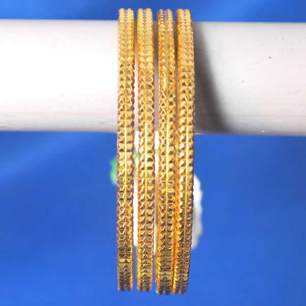 One Gram Jewellery Bangels Gold Bangles A Set Of