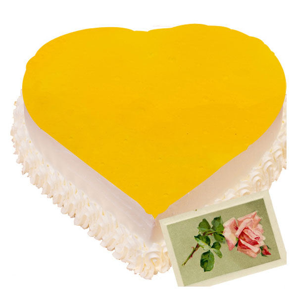 Heart Shape Pineapple Cake A Cake For Sure To Astonish
