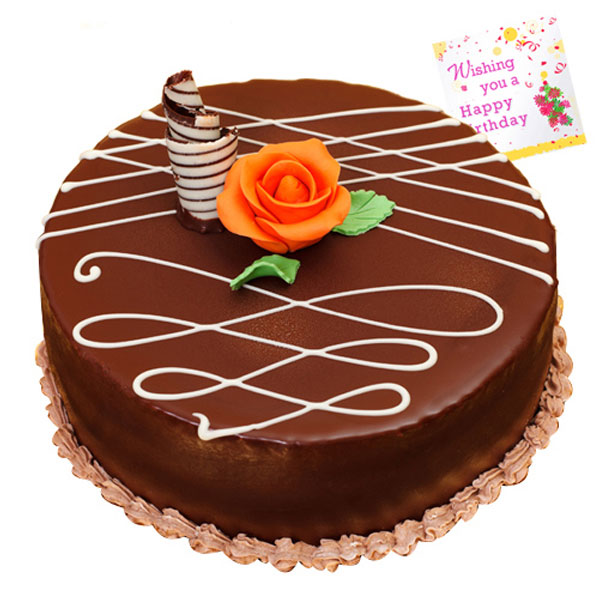 Taj Round Chocolate Cake Buy Online Delicious Mouth