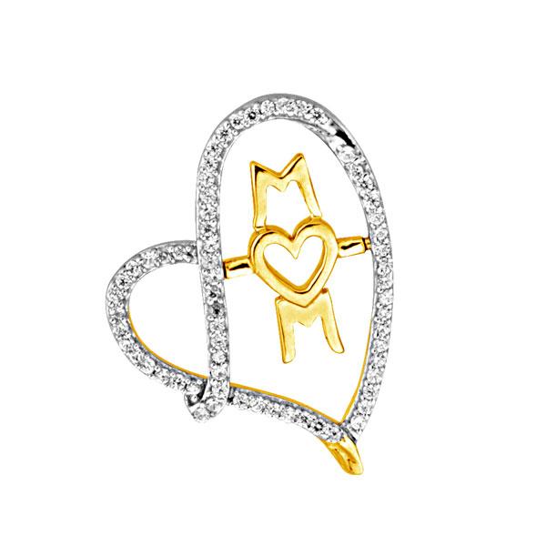 Mothers Day Diamond Jewellery Mom Diamond Pendant
