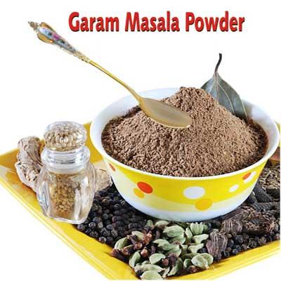 how to prepare garam masala powder in telugu