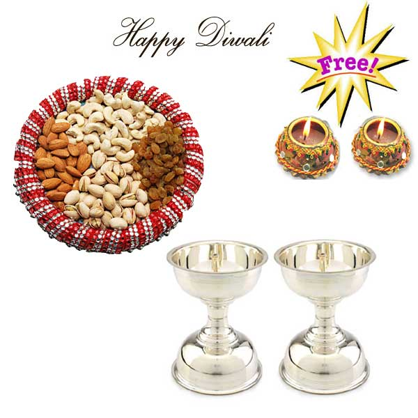 Deepavali Special Pooja Thali Sets A Grand Treat 50g
