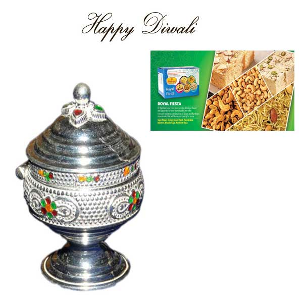 Express Your Warm Wishes 40g Pure Silver Kumkum Box And