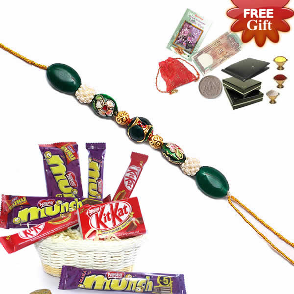 Rakhi Sweet Basket