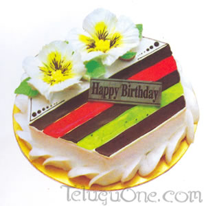 Sweet Strips cake