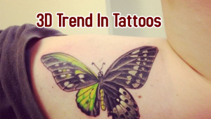 3D Trend In Tattoos
